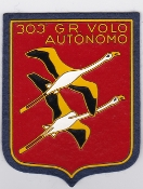 Italian Patch Air Force Aeronautica Militare AM Gruppo 303 VA