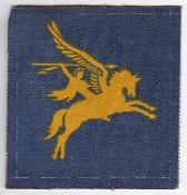 British Army Airborne Patch 6 Field Force HQ Pegasus DZ 1977