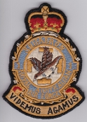 RAAF Patch Sqn Royal Australian Air Force 1 Squadron Crest 1950s