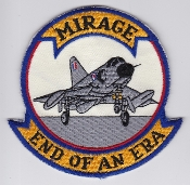 RAAF Patch Sqn Royal Australian Air Force Mirage IIIO End Of Era