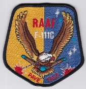 RAAF Patch Sqn Royal Australian Air Force 6 Squadron Pave Tack