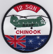 RAAF Patch Sqn Royal Australian Air Force 12 Squadron Ops 1990s