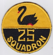 RAAF Patch Sqn Royal Australian Air Force 25 Squadron Ops