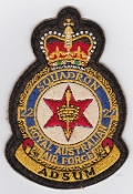 RAAF Patch Sqn Royal Australian Air Force 22 Squadron Crest