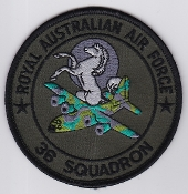 RAAF Patch Sqn Royal Australian Air Force 36 Squadron Ops