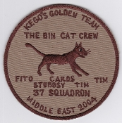 RAAF Patch Sqn Royal Australian Air Force 37 Squadron MEAO 2004