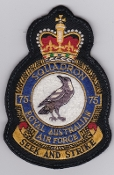 RAAF Patch Sqn Royal Australian Air Force 75 Squadron Crest Gr