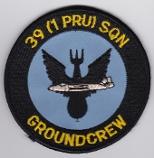 RAF Patch 39 Squadron Royal Air Force 1 PRU Canberra Small
