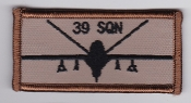 RAF Patch 39 Squadron Royal Air Force UAV Reaper Afghanistan
