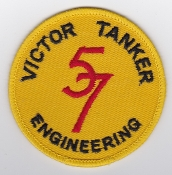 RAF Patch 57 Squadron Royal Air Force Victor Tanker Engineering
