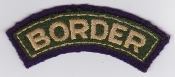 British Army Airborne Title Patch Border Regiment Airlanding Bde