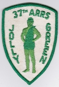 USAF Patch Rescue Vietnam 37 ARRS Jolly Green Giant HH 3E