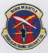 USAF Patch Intel PACAF 6990 ESS Electronic Security Squadron
