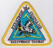 USAF Patch Intel SAC Strategic Air Command Electronic Combat