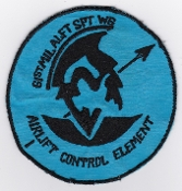 USAF Patch Airlift 61 MASW Military Airlift Support Wing Control