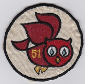 German Air Force Patch 51 AG Reconnaissance F 104 Starfighter d