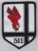 German Air Force Patch 51 AG Tornado 3 Reconnaissance 511 Stff b