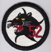 German Air Force Patch 52 AG Reconnaissance F 104 Starfighter a