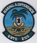USAF Patch Intel 6975 ESS Electronic Security Squadron Riyadh