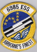 USAF Patch Intel 6985 ESS Electronic Security Squadron RC 135