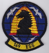 USAF Patch Intel 169 ESS Electronic Security Squadron Comfy Levi