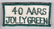 USAF Patch Rescue Vietnam 40 ARRS Aerospace Recovery Jolly Green
