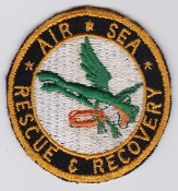 US Navy Aviation Patch Rescue Air Sea Recovery Frog Swimmer