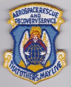 USAF Patch Rescue ARRS Aerospace Recovery Service Jolly Green K
