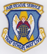 USAF Patch Rescue ARS Air Rescue Service SAR CSAR Large 1950s