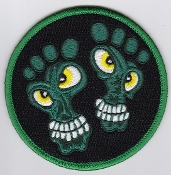 USAF Patch Rescue 33 RQS Squadron CSAR Pararescue Feet Four Toes