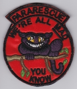 USAF Patch Rescue RQS Squadron Special Tactics Pararescue PJ