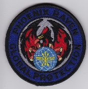 USAF Patch Airlift v AMC Phoenix Raven Aircraft Security Force