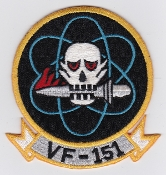US Navy Aviation Patch Fighter VF 151 Squadron F 4 Phantom