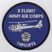 Army Air Corps AAC Flt Patch 3 Flight Topcliffe Ops 1990s