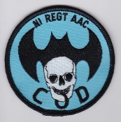 Army Air Corps AAC Sqn Patch 665 Squadron Ops b COD NI 1990