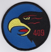 409 tactical fighter squadron patches