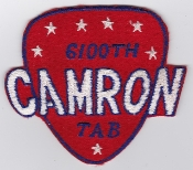 USAF Patch Airlift 6100 SW Support Wing Tachikawa AB CAMRON a