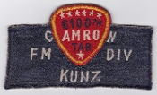 USAF Patch Airlift 6100 SW Support Wing Tachikawa AB CAMRON FM a