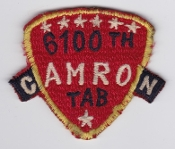 USAF Patch Airlift 6100 SW Support Wing Tachikawa AB CAMRON FM b