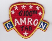 USAF Patch Airlift 6100 SW Support Wing Tachikawa AB CAMRON DB a