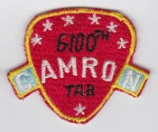 USAF Patch Airlift 6100 SW Support Wing Tachikawa AB CAMRON LB a