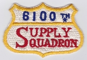 USAF Patch Airlift 6100 SW Support Wing Tachikawa AB Supply Sq
