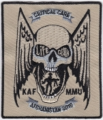 USAF USN Patch Rescue NATO KAF Role 3 MMU Critical Care 2016