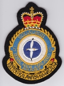 RNZAF Patch Sqn Royal New Zealand Air Force 5 Squadron Crest