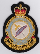 RNZAF Patch Sqn Royal New Zealand Air Force 1 Squadron Crest EB