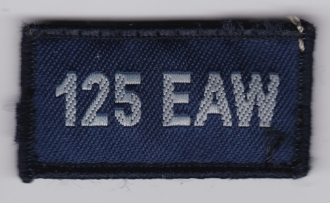 RAF Patch Royal Air Force 125 EAW Expeditionary Air Wing No EB