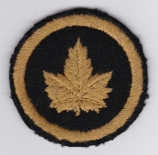 Canadian Army Formation Sign Patch HQ Headquarters London b