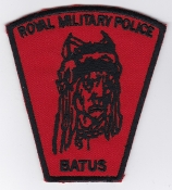 British Army Patch TRF MP Royal Military Police BATUS Suffield