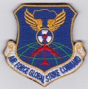 USAF Patch Bomb t AFGSC Air Force Global Strike Command Shield