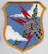 USAF Patch Bomb SAC Strategic Air Command Shield a No Scroll a